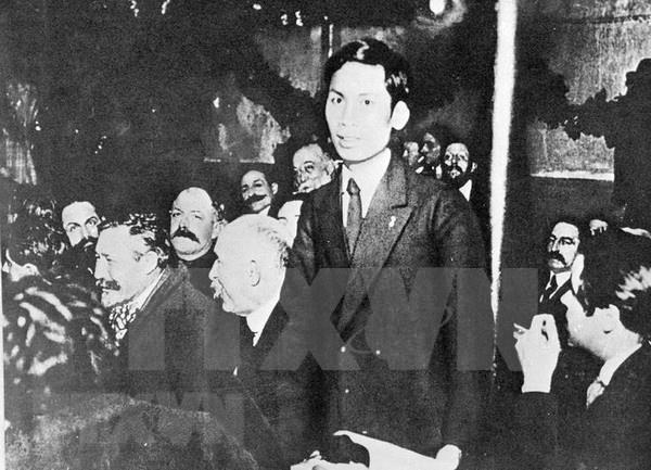 《胡志明——一位政治家的形象素描》纪录片对外公布 hinh anh 1
