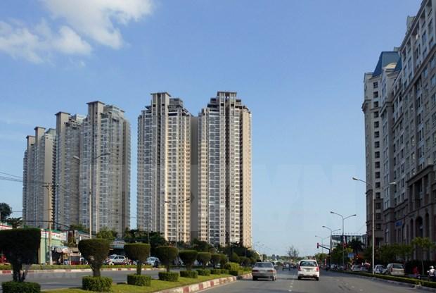 胡志明市住房价格一年内上涨近12% hinh anh 1