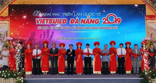 2019年越南国际建材展在岘港开幕 hinh anh 1