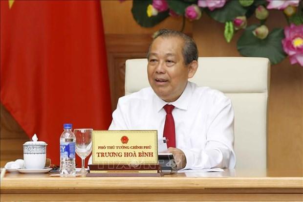 张和平:政府一直努力为企业疏解困难 hinh anh 2