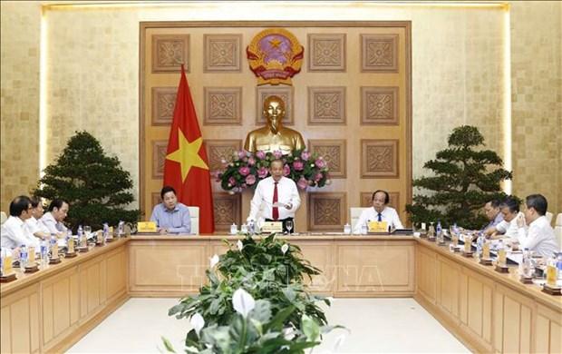 张和平:政府一直努力为企业疏解困难 hinh anh 1