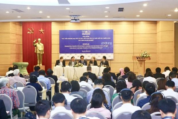 越南重视促进与各战略伙伴之间的贸易投资发展 hinh anh 2