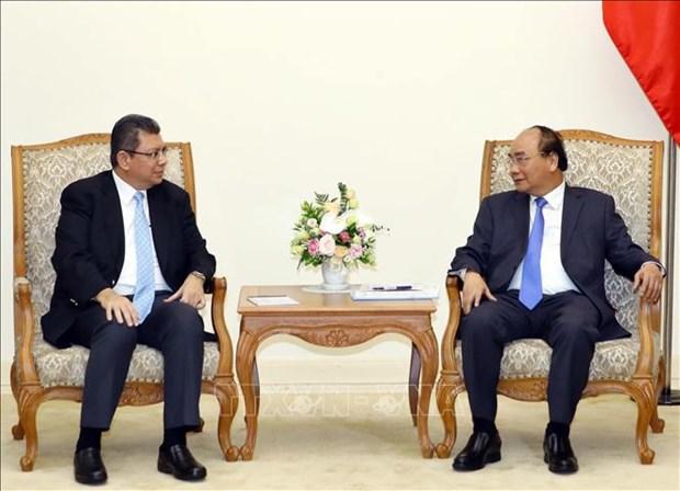 阮春福总理会见马来西亚外交部长赛夫丁 hinh anh 1