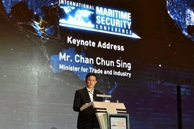 新加坡强调互信和合作对海事安全十分重要 hinh anh 1