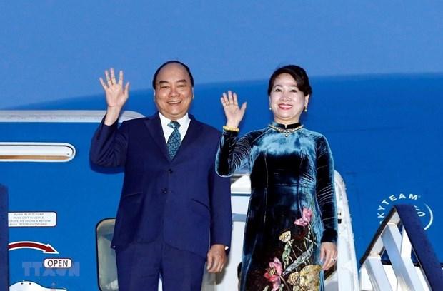 阮春福总理将对俄罗斯、挪威和瑞典进行正式访问 hinh anh 1