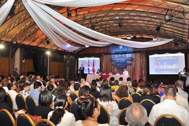 越南企业赴古巴了解经营机会 hinh anh 1