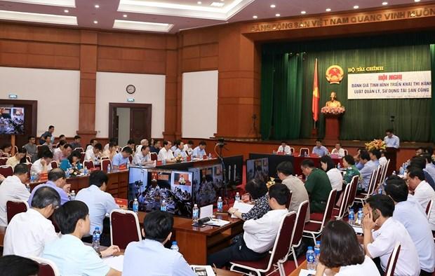 越南将建立公共财产管理的电子交易系统 hinh anh 1