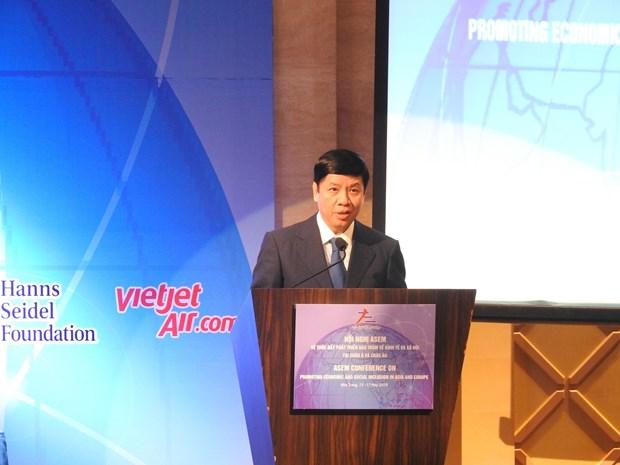 亚欧会议:促进经济与社会包容性增长 hinh anh 3