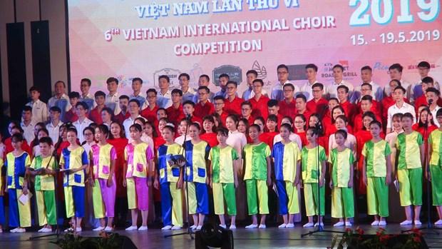 第六届越南国际合唱比赛在广南省会安市拉开序幕 hinh anh 1