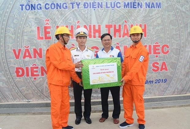 越南电力集团(EVN)确保长沙群岛各岛屿的供电稳定 hinh anh 2