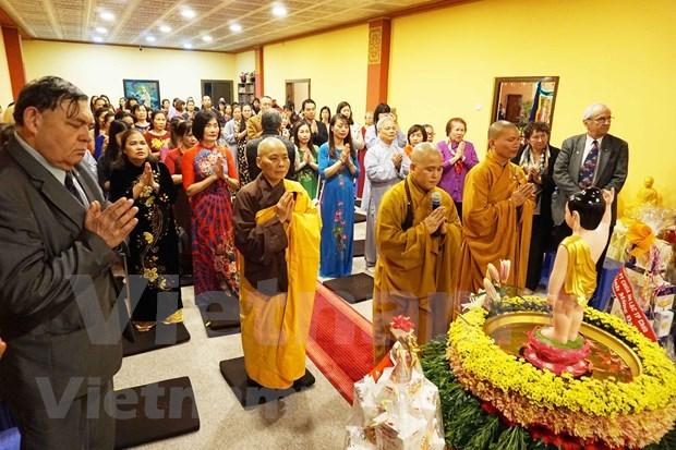 佛诞大典:增强在捷越南人之间的团结与协作精神 hinh anh 1
