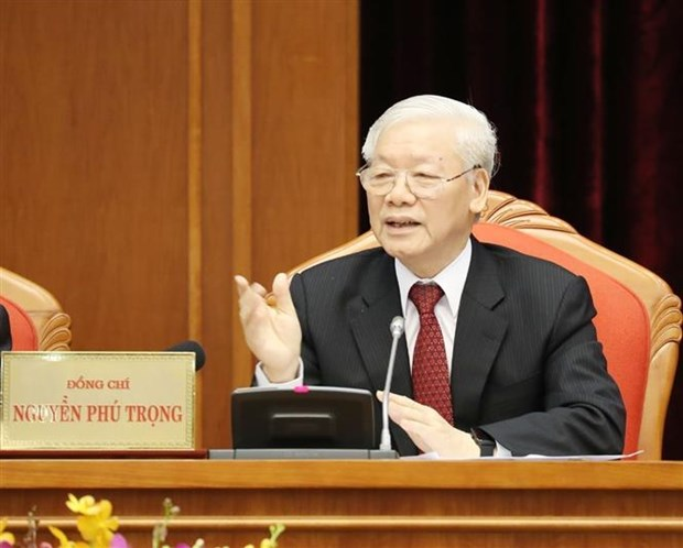 越共十二届十中全会召开第一天:对会议议程提出意见 hinh anh 1