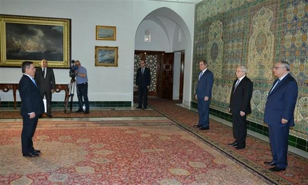 阿尔及利亚总统希望与越南促进关系 hinh anh 2