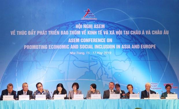 推动亚洲与欧洲社会和经济包容性发展 hinh anh 2