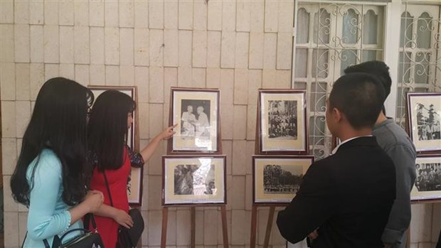 胡志明主席诞辰129周年纪念活动在埃及举行 hinh anh 2