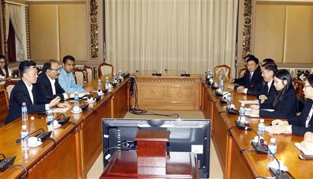 印度企业寻找在胡志明市投资商机 hinh anh 2