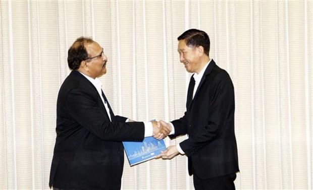 印度企业寻找在胡志明市投资商机 hinh anh 1
