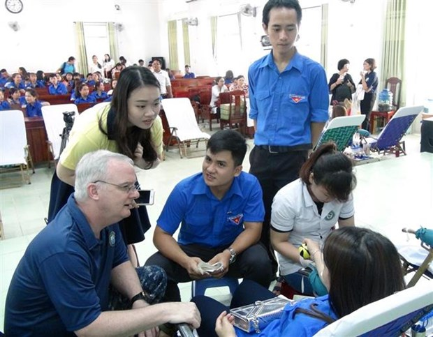 2019年太平洋伙伴计划援建富安省教室 hinh anh 1