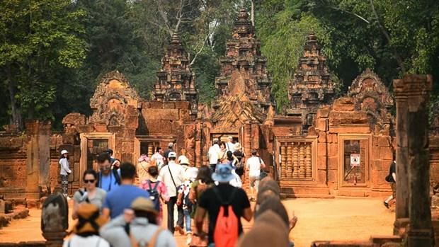 中国赴柬埔寨旅游人数继续增加 hinh anh 1