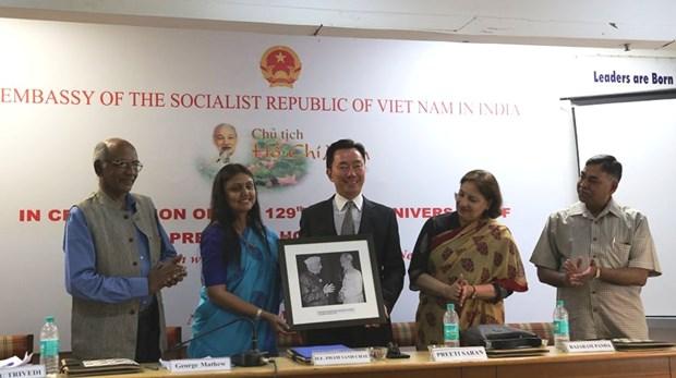 胡志明主席诞辰129年纪念活动在印度举行 hinh anh 2