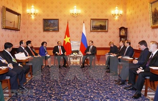 阮春福对俄罗斯进行正式访问:重视越俄战略伙伴关系 hinh anh 1