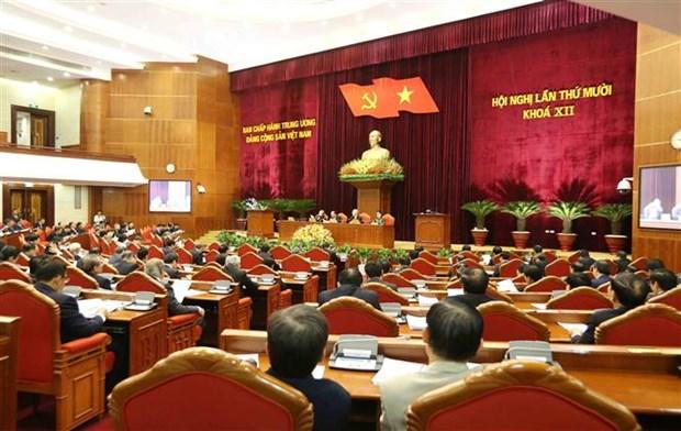 越共十二届中央委员会第十次会议闭幕 hinh anh 2