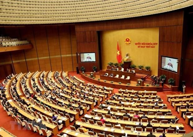 越南第十二届国会第七次会议明日在河内开幕 hinh anh 1
