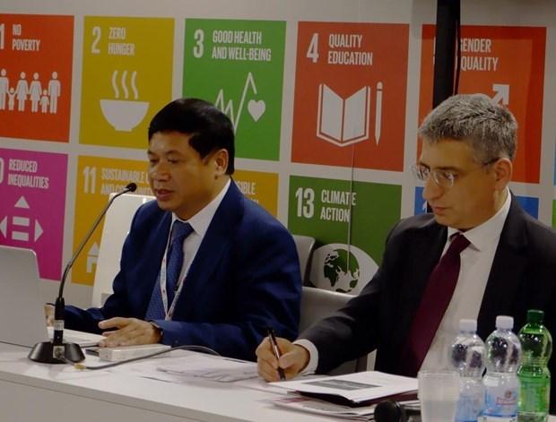 越南承诺成为国际发展合作的积极因素 hinh anh 1