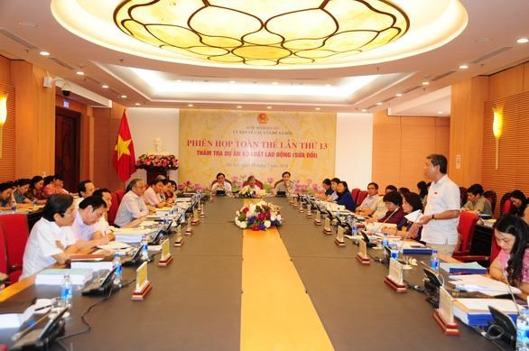 越南国会社会问题委员会召开第13次全体会议 hinh anh 1