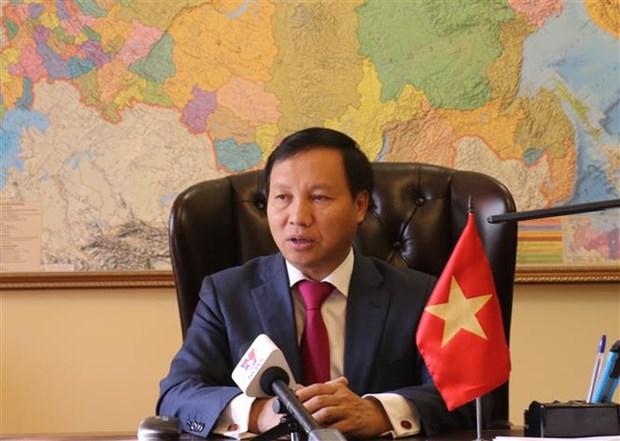 越南重视促进越俄全面战略伙伴关系发展 hinh anh 1