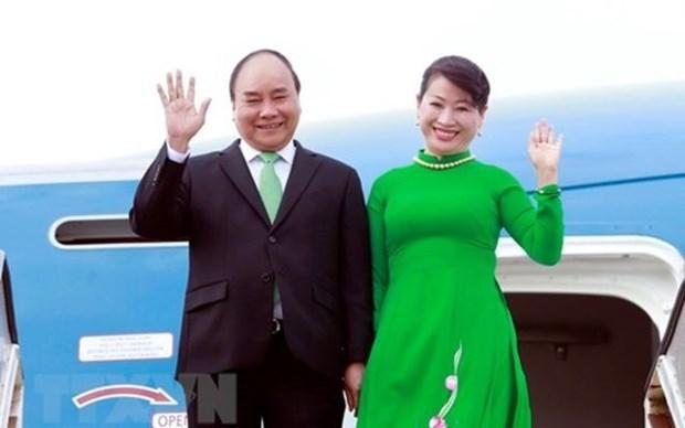 越南政府总理阮春福启程访问俄罗斯、挪威和瑞典 hinh anh 1