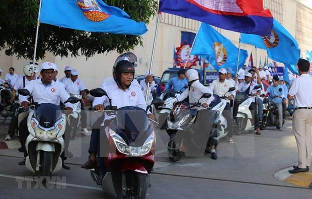 柬埔寨第三届地方选举设立228个投票站和5万个投票箱 hinh anh 1