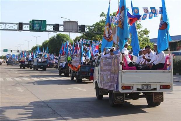 柬埔寨第三届地方选举设立228个投票站和5万个投票箱 hinh anh 2