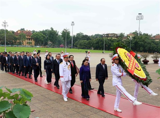 第十四届国会第七次会议在首都河内隆重开幕 hinh anh 2