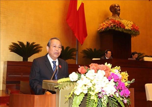 第十四届国会第七次会议:坚持巩固宏观经济基础 确经济各方面达到平衡 hinh anh 2