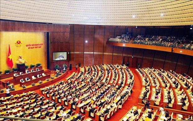 第十四届国会第七次会议:坚持巩固宏观经济基础 确经济各方面达到平衡 hinh anh 1