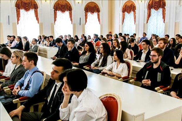 胡志明市精神遗嘱研讨会在俄罗斯圣彼得堡市举行 hinh anh 1