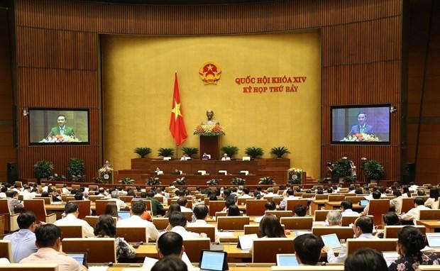 第十四届国会第七次会议:确保《保险法》与《知识产权法》符合全球化要求 hinh anh 1