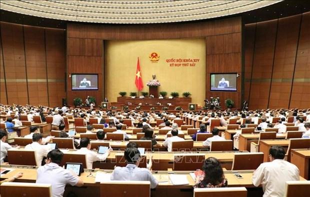 越南第十四届国会第七次会议公报(第二号) hinh anh 1