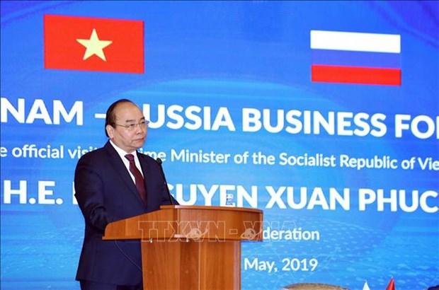 越南-俄罗斯企业论坛为双方企业带来合作机会 hinh anh 1