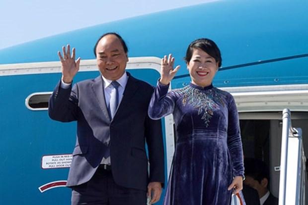 越南政府总理阮春福对挪威进行正式访问 促进两国多方面合作关系 hinh anh 1