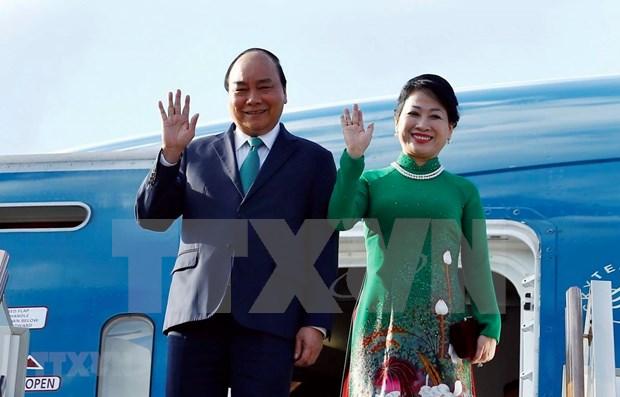 越南政府总理阮春福接受俄罗斯塔斯社的采访 hinh anh 1