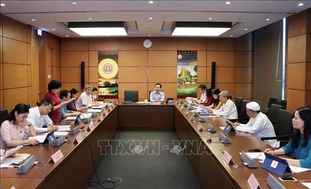 越南第十四届国会第七次会议就经济社会问题进行分组讨论 hinh anh 1