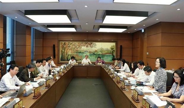 越南第十四届国会第七次会议就经济社会问题进行分组讨论 hinh anh 2