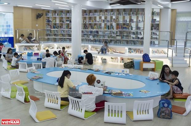 胡志明市首家现代化电子图书馆——S.hub Kids少儿技术空间 hinh anh 2
