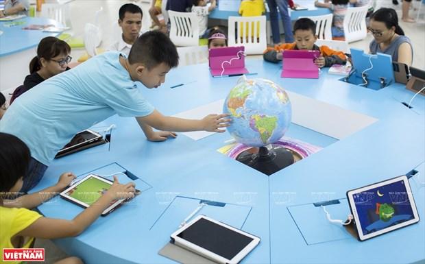 胡志明市首家现代化电子图书馆——S.hub Kids少儿技术空间 hinh anh 1