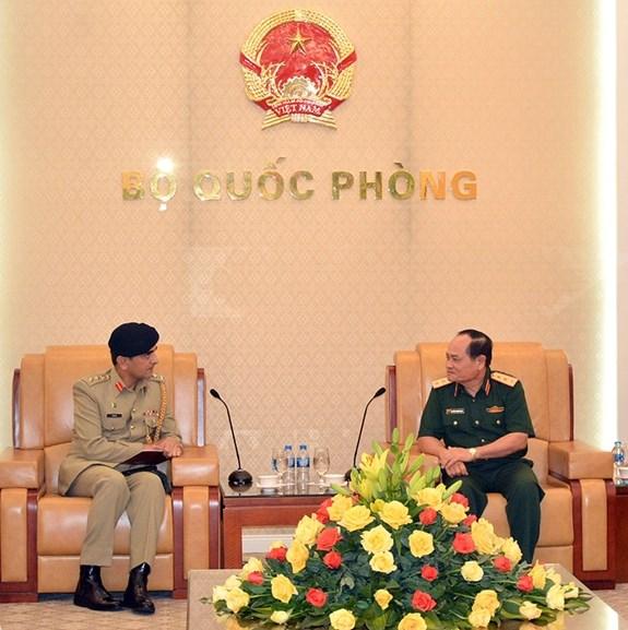 越南与巴基斯坦加强防务合作 hinh anh 1