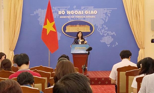 东海资源开发活动要根据国际法的规定进行 hinh anh 1