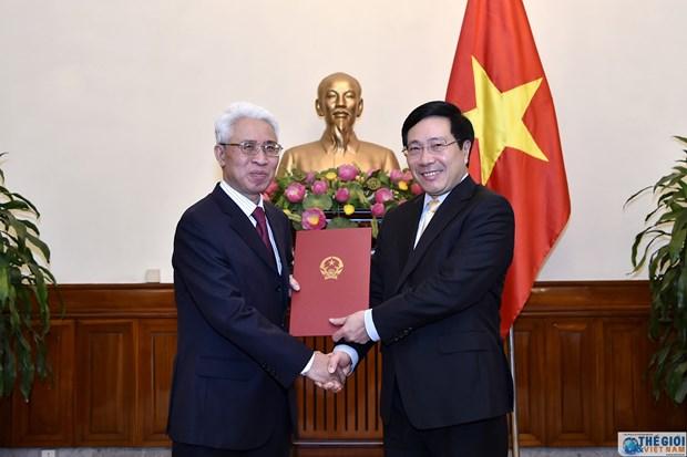 范星梅被任命为越南驻中国大使 hinh anh 1