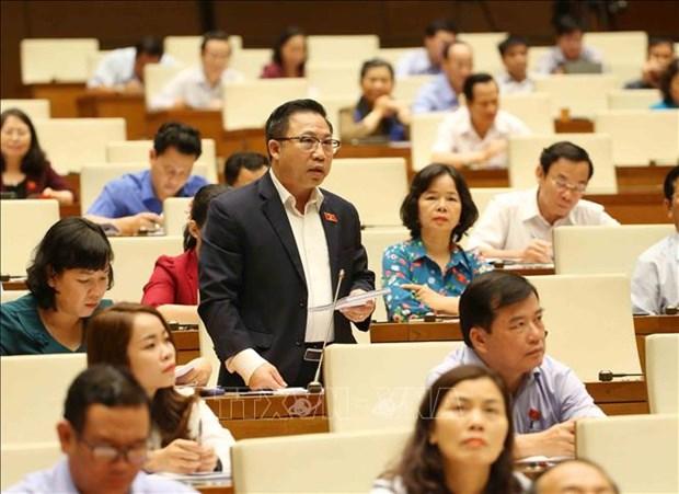 第十四届国会第七次会议:保障宏观经济稳定和控制通胀是第一优先任务 hinh anh 2